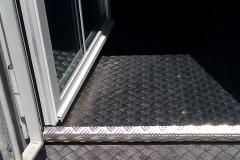 Fenster mit Rampe